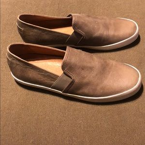 New Frye slip ons leather Sneakers